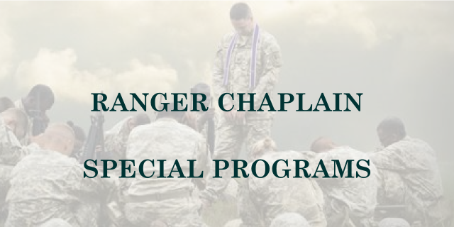 Ranger Chaplain Special Programs