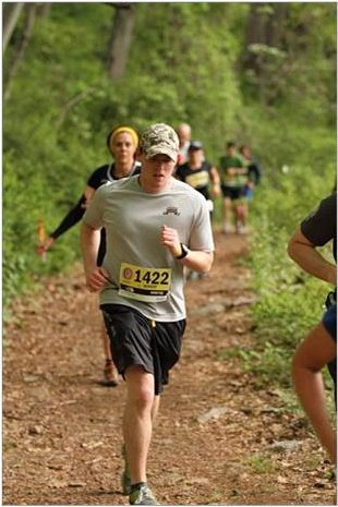 Bobby Condon in the Bear Mountain Trail Half Marathon! Thanks for the support!