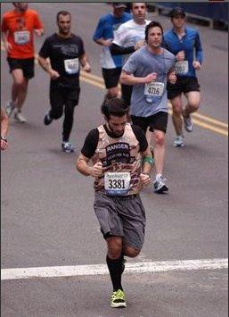 Dan Lamonaca Running the NYC Half Marathon! Great Job Dan!