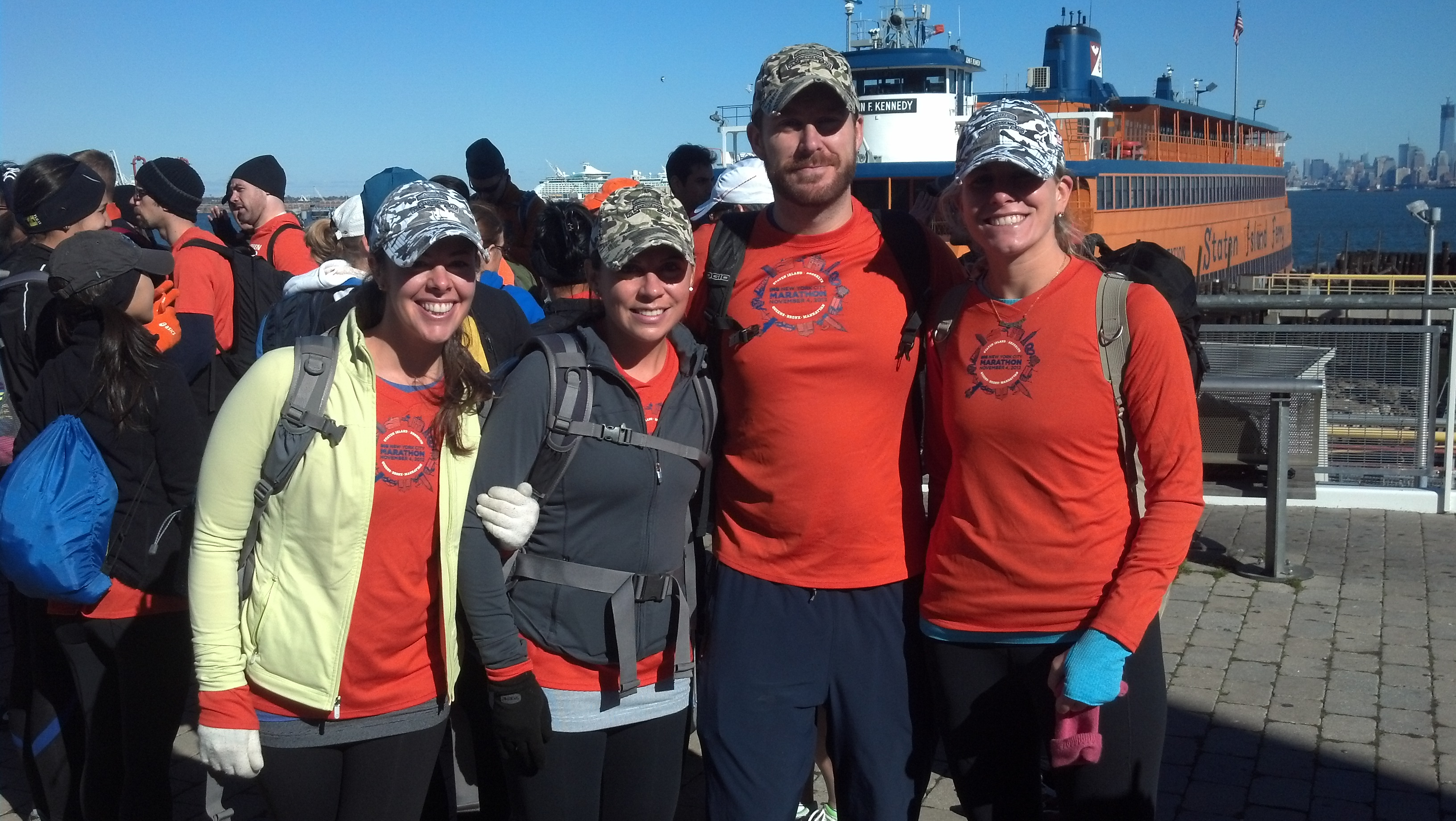 "Kudos to Lead The Way Fund ""Marathoners for Staten Island Relief"""