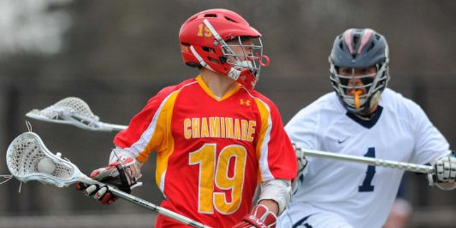 "Newsday: ""Ryan Lukacovic's three goals lead Chaminade in 'Reg's Rock' game"""
