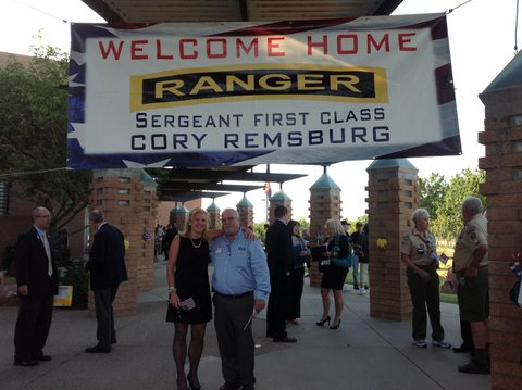 SFC Cory Remsburg Welcome Home Ceremony