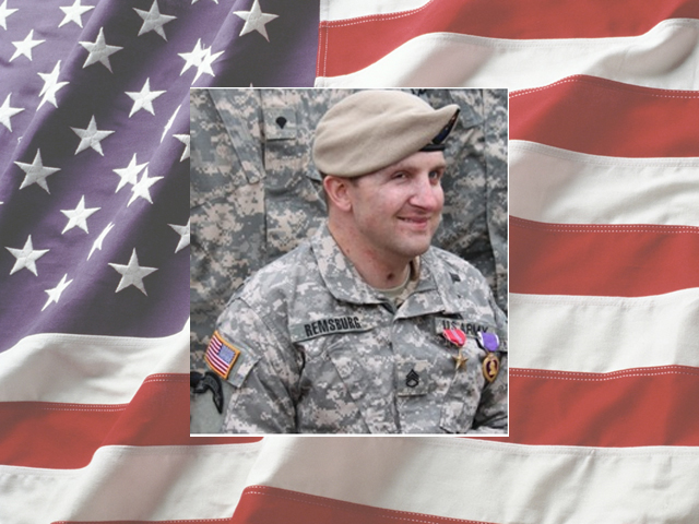 WOUNDED ARMY RANGER SFC CORY REMSBURG COMES HOME TO HERO'S WELCOME