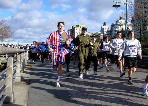 Second Annual Veterans' Day Event: A Run Down Hero Highway