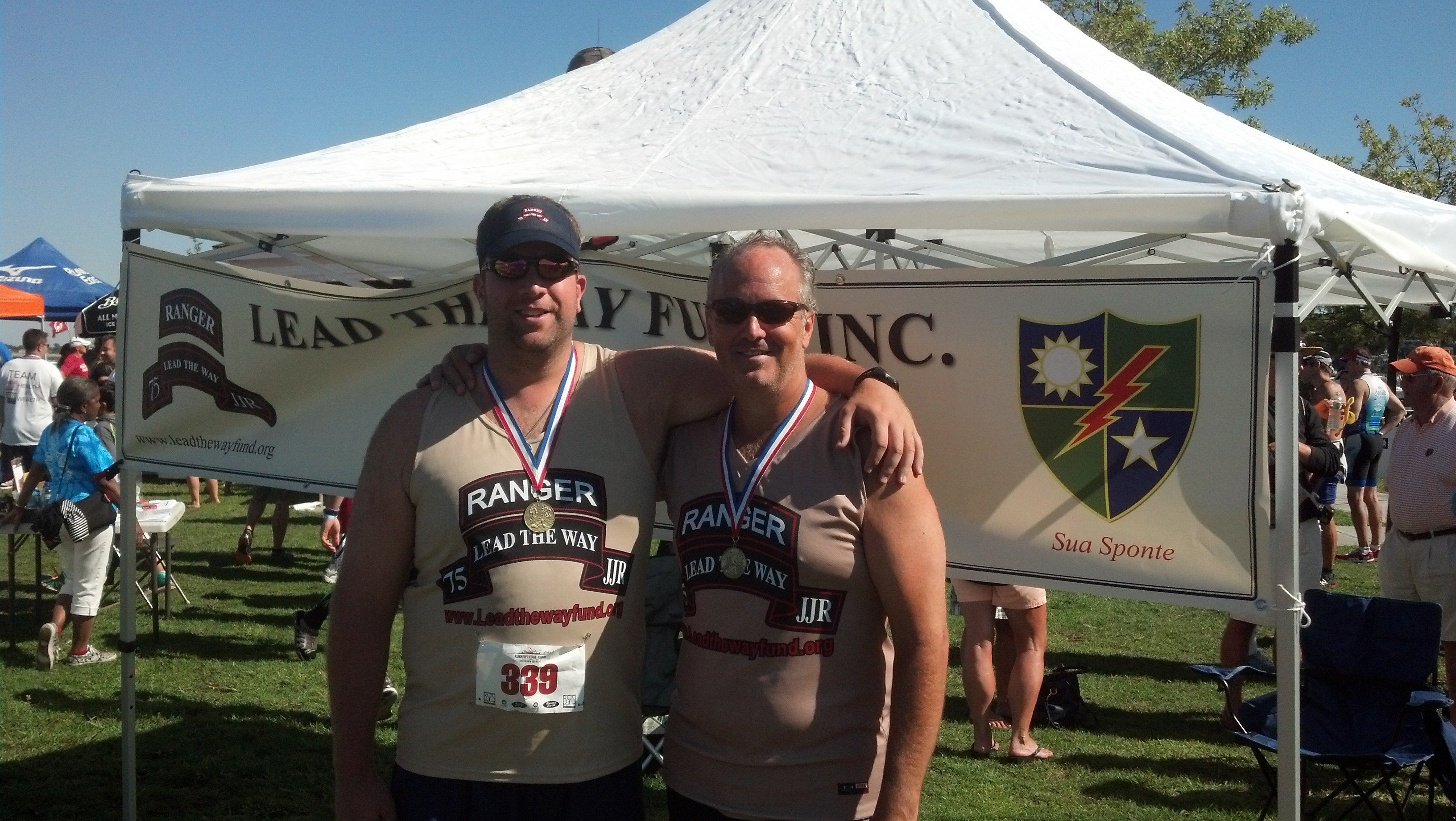 PJ Barry & Tim Dwyer Represent at 2013 Tobay Triathlon
