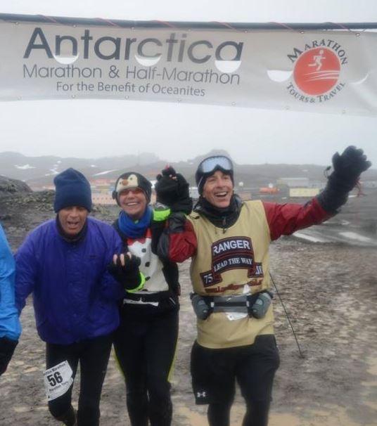 Joe Findaro Runs the Antarctic Marathon!