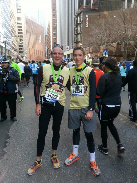 Congrats to our NYC 1/2 Marathoners!