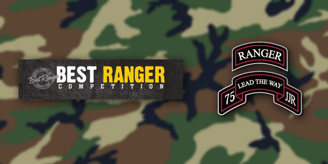 2014 Best Ranger Competition and Army Ranger Lead The Way Fund
