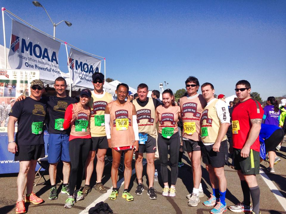 90 Runners Represent Army Lead The Way Fund at the 2014 Army Ten Miler