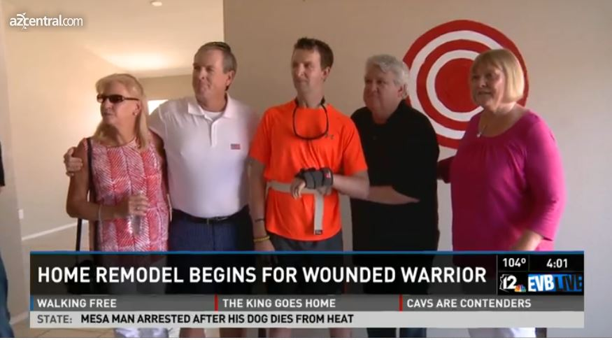 Charity Remodeling Wounded Gilbert Veteran's Home – Arizona Republic