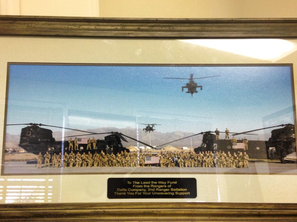 A Gift to LTWF from Delta Company 2d Ranger Battalion