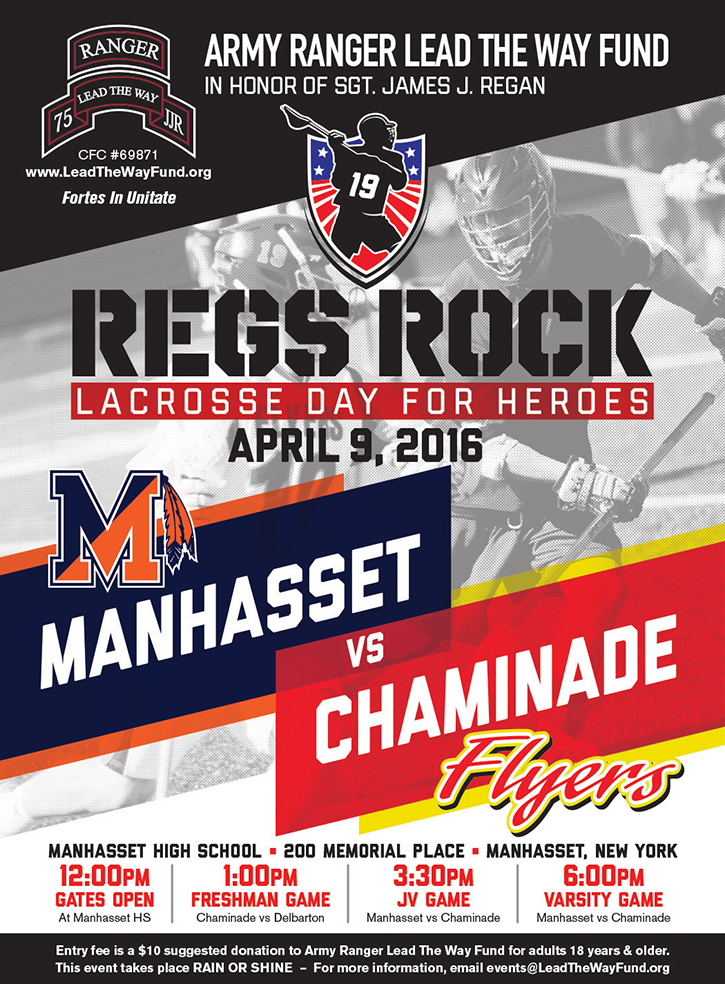 """Regs Rock"" Lacrosse Day for Heroes"