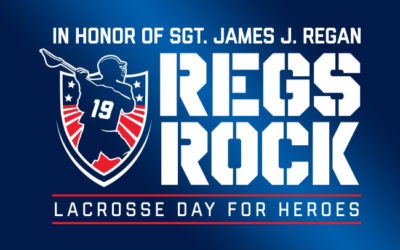 Regs Rock Lacrosse Day for Heroes
